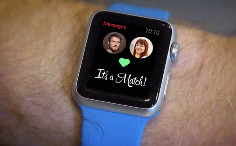 Apple Watch: Aimer par le battement de son coeur